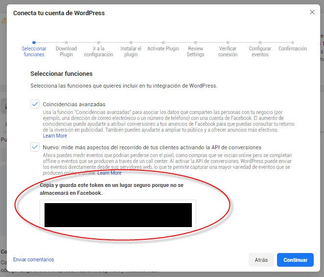 API De Conversiones Facebook